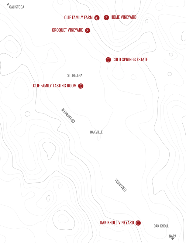 Clif Family Vineyards Map