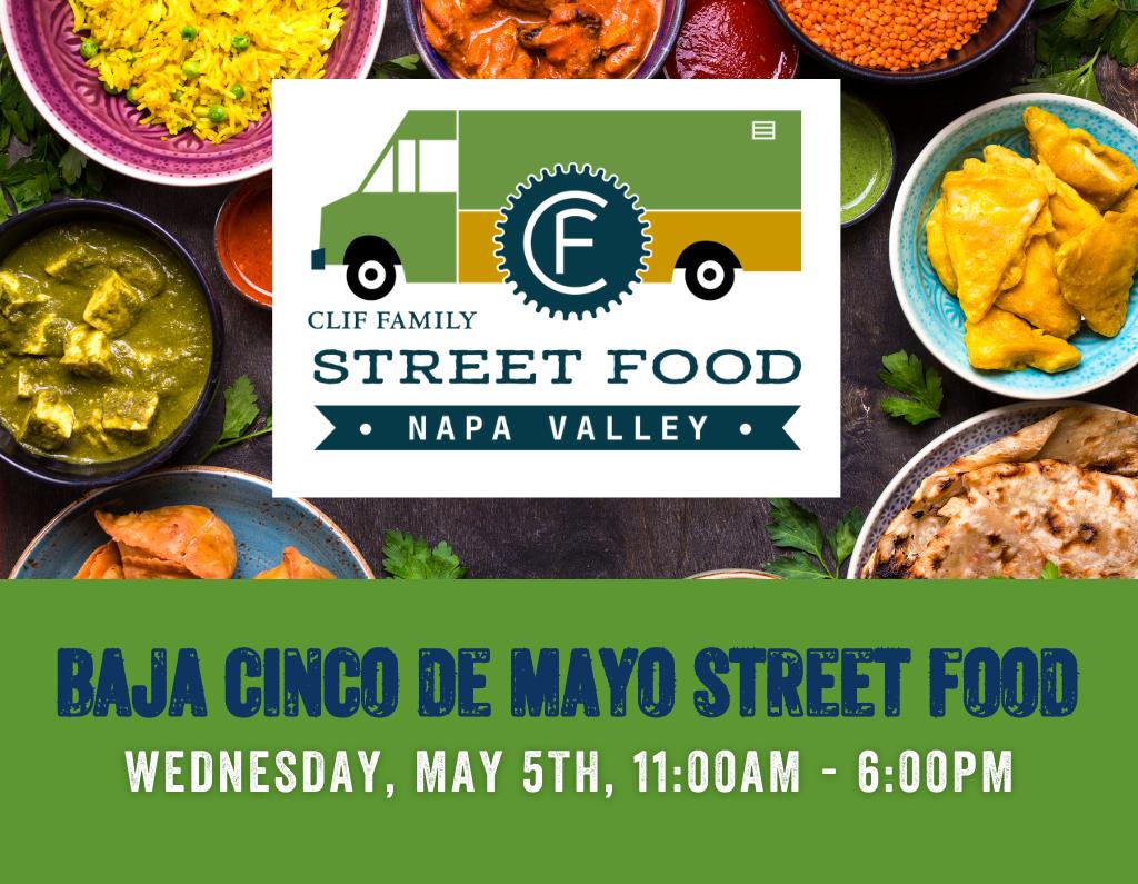 Street Food Napa Valley Baja Cinco De Mayo Menu