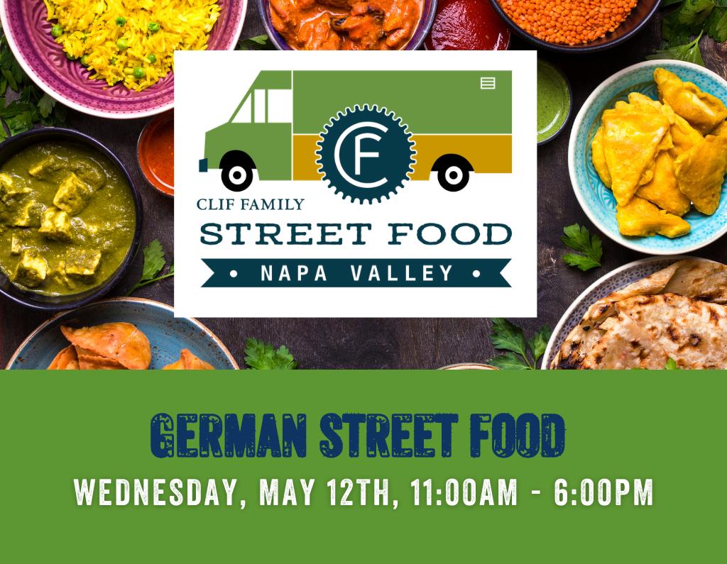 Street Food Napa Valley - German