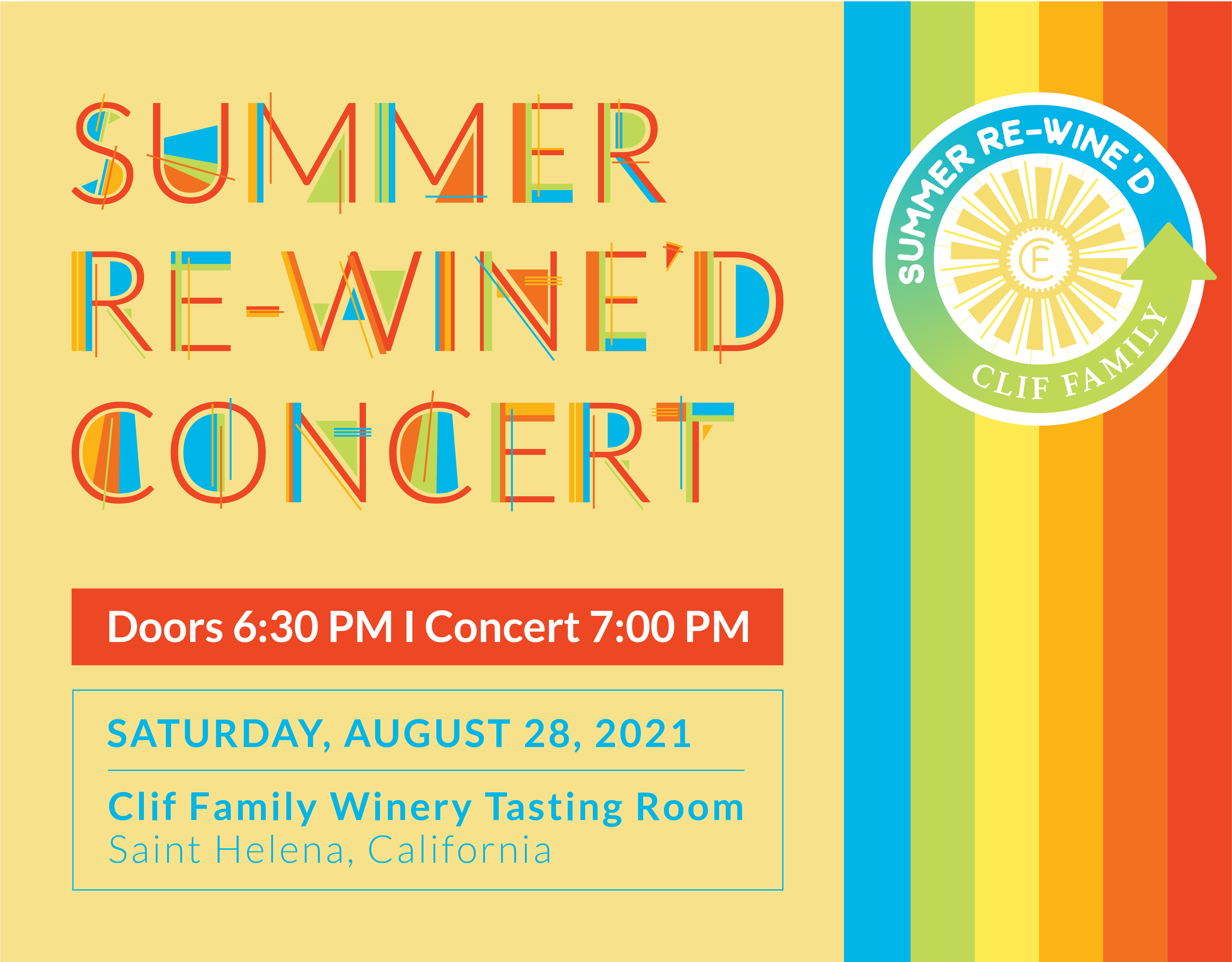 Summer Re-Wine'd Concert